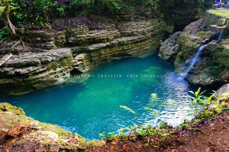 Take a dip, swim, or jump off a cliff--you'll surely be delighted with Cancalanog Falls